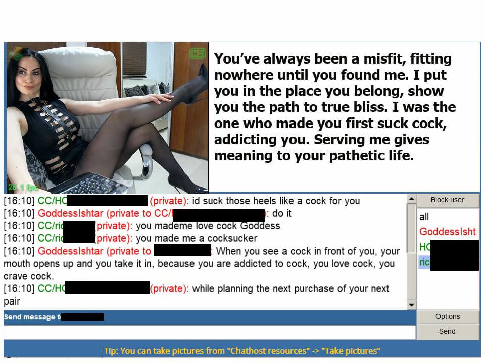Financial Domination - FemDom Live Webcam - Goddess Ishtar XXX